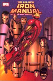 All New Iron Manual One Shot (2008) Iron Man Marvel comic book